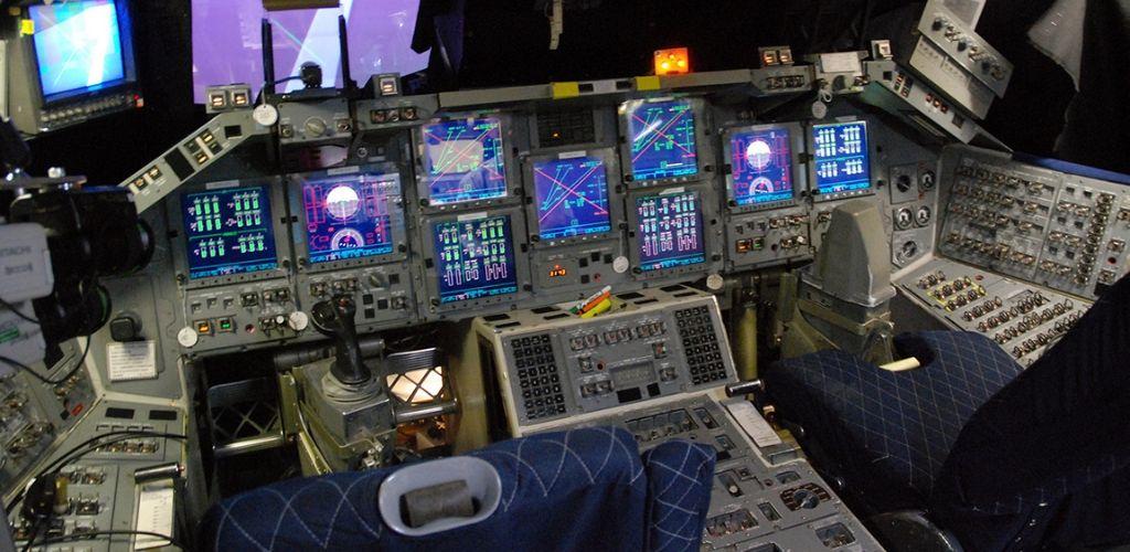 shuttle cockpit simulator