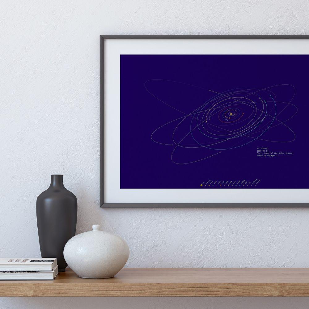spacetime coordinates print