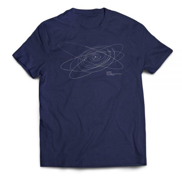 spacetime coordinates shirt