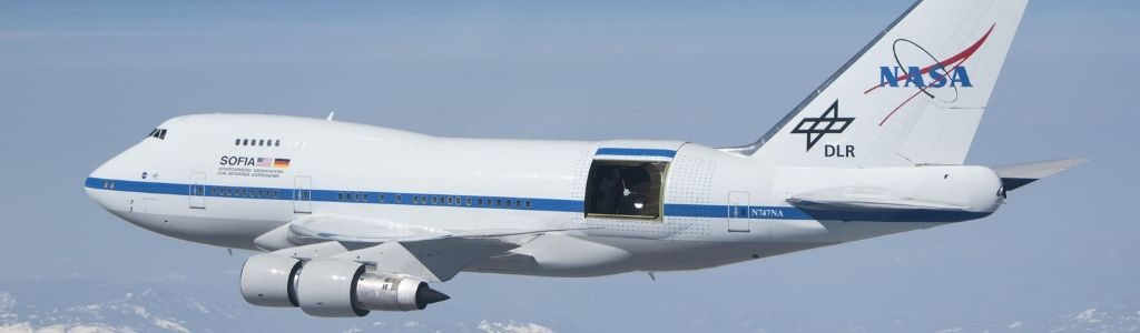 sofia telescope plane