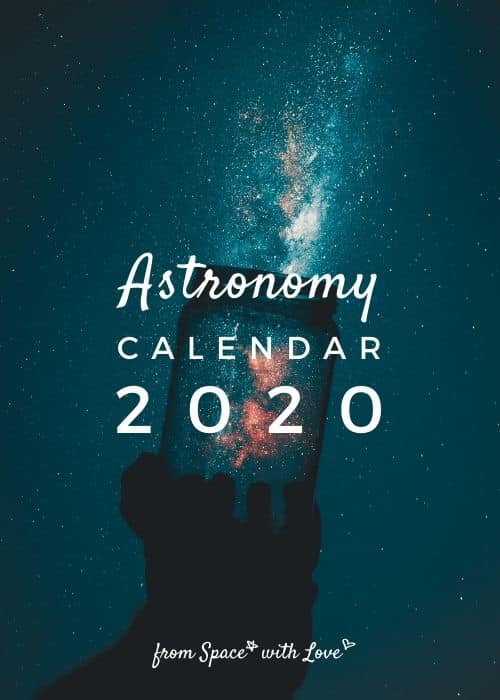 Astronomy Calendar 2021 | 2021 Calendar