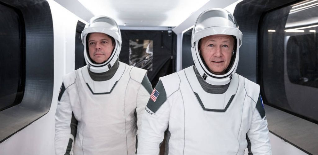 Crew Dragon astronauts