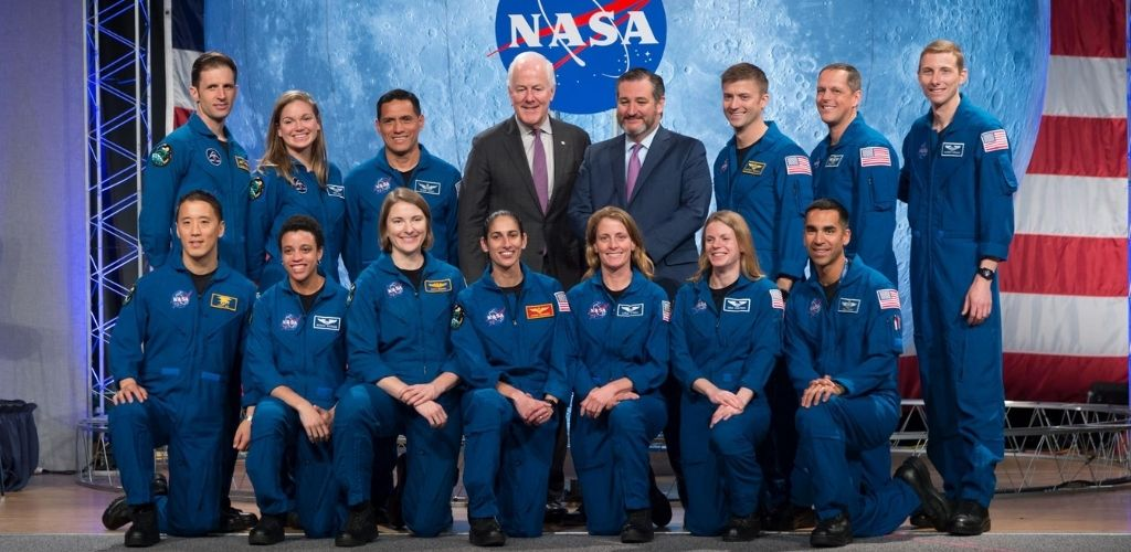 NASA astronaut graduation ceremony