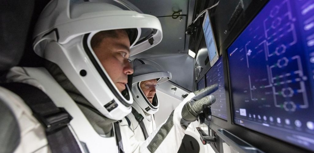 Bob Behnken Doug Hurley astronaut training