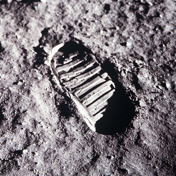 Bootprint on the Moon