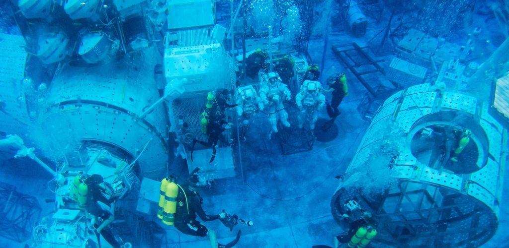 Neutral Buoyancy Laboratory astronaut training