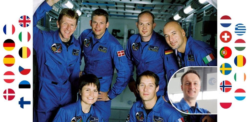 ESA active astronauts