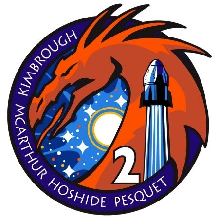 SpaceX Crew-2 logo patch